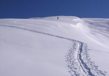 Snow mountains piemonte italy