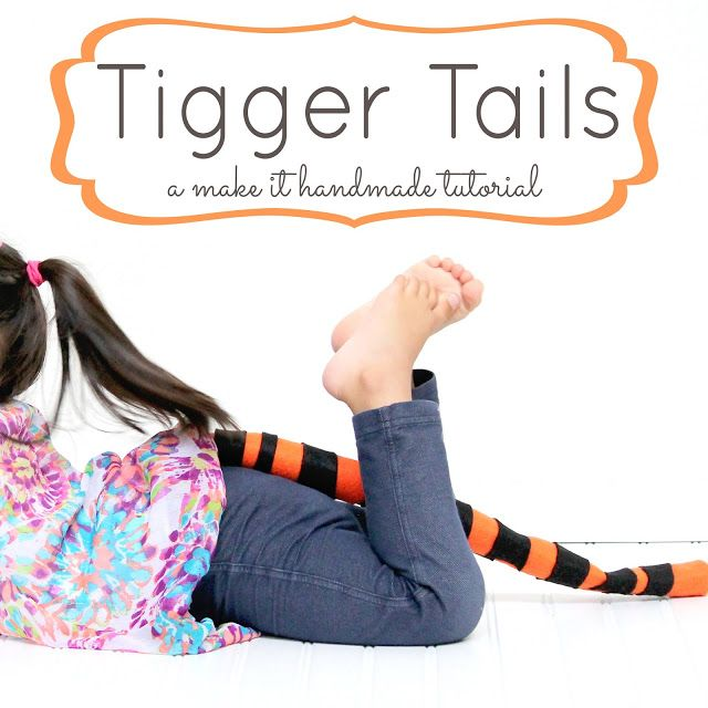 Make an easy Tigger Tail! #disneywinnie