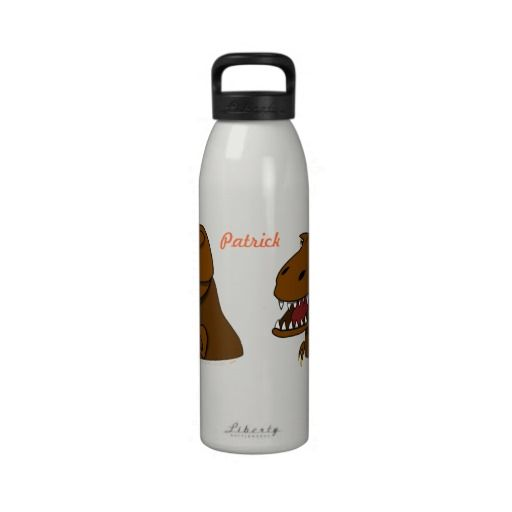 Trex Tyrannosaurus Rex Dinosaur Personalized Kids Reusable Water Bottle We have the best promotion for you and if you are interested in the related item or need more information reviews from the x customer who are own of them before please follow the link to see fully reviewsShoppingple...