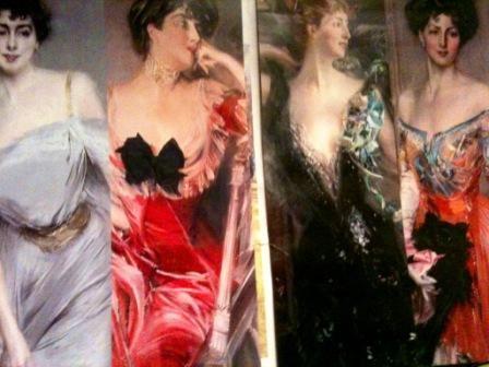 Giovanni Boldini's exhibition  just published  folder
