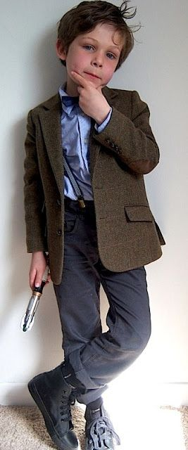 Making My 11th Doctor Costume: Junior Doctor This will be Jonathan's Halloween Costume this year... It must be.