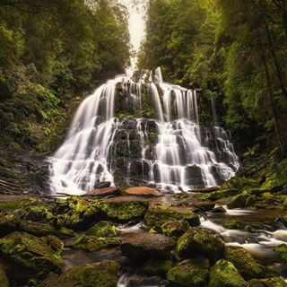 It has the waterfalls. | 26 Beautiful Reasons Tasmania Is One Of The Best Islands In The World