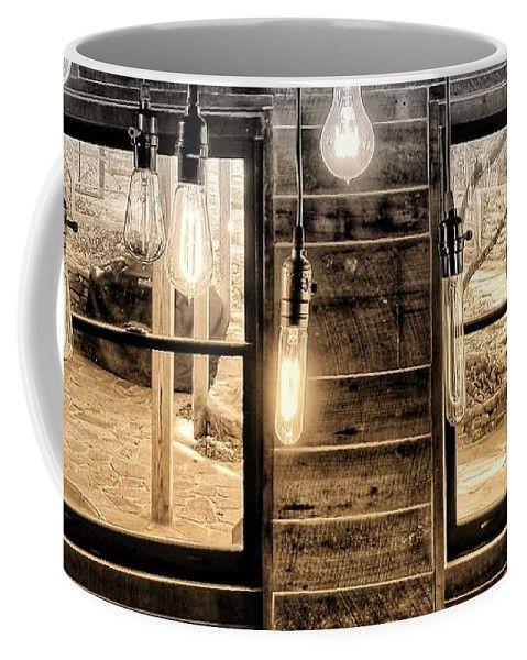 #lights #windows #logcabin #mugs #logcabindecor