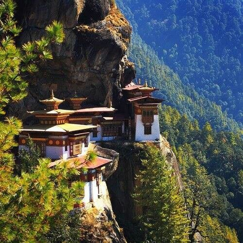 Tigre nest, Bhutan