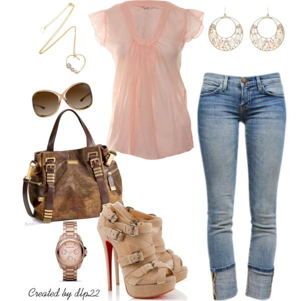 """""""Pale Pink"""" by dlp22 on PolyvoreShoes, Fashion Style, Outfit, Pale Pink, Girls Fashion, Polyvore, Style Clothing, Fashion Girls, Dreams Closets"""