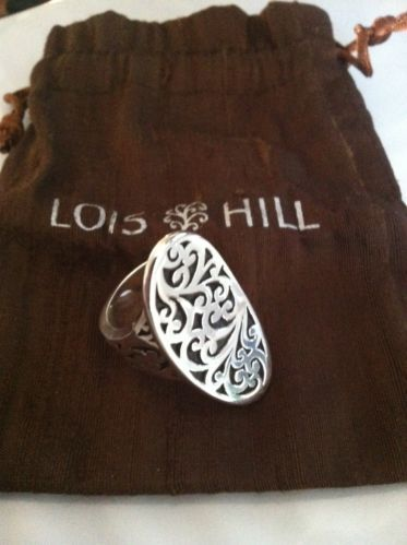 LOIS HILL Carved SADDLE RING | Lois Hill Jewelry ...