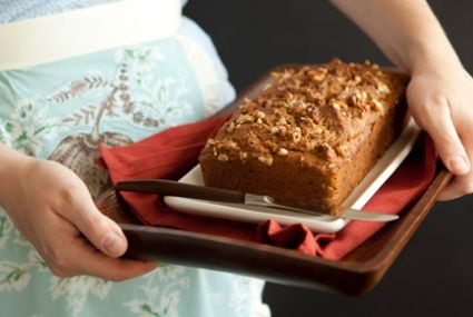 Honey Walnut Pumpkin Bread | What a delicious baking project for the weekend!