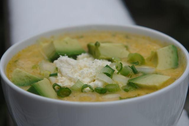 Locro de papa con queso | Recipe | Potato Soup, Soups and Potatoes