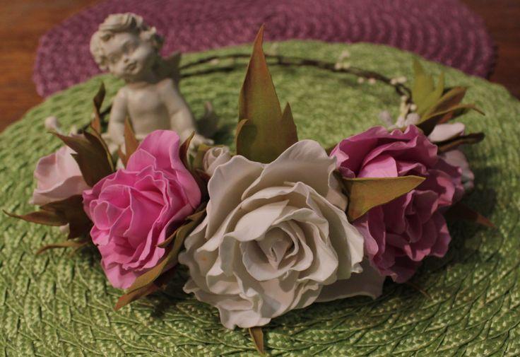Венок из фоамирана #Лавка_чудес_Винница #Цветы_фоамиран