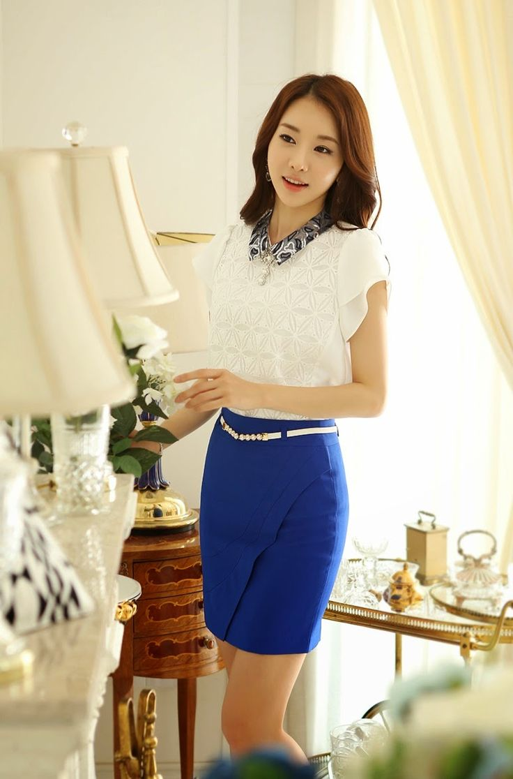 73 best fuste pencil images on pinterest skirts pencil skirts moda coreana fandeluxe Image collections