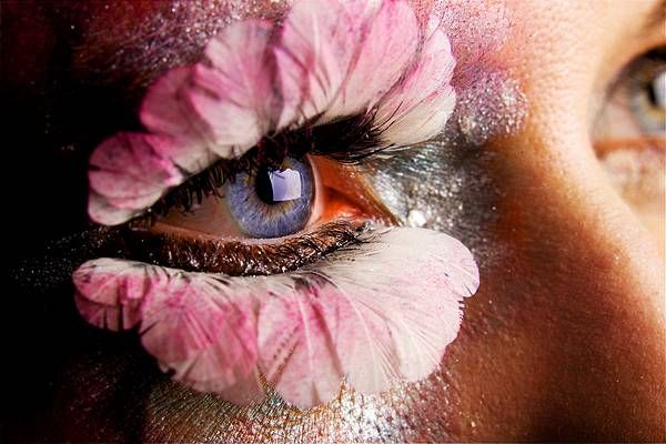 Stephen Eastwood captures this beautiful shot of an adorned eye.
