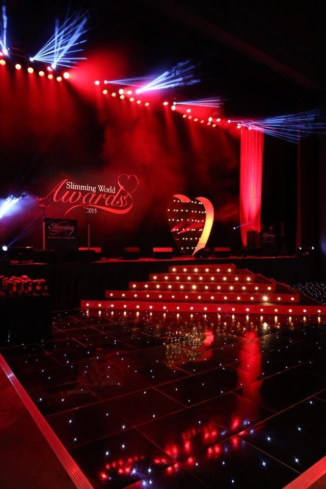 Black LED Starlit Dance Floors are ultimately stylish.