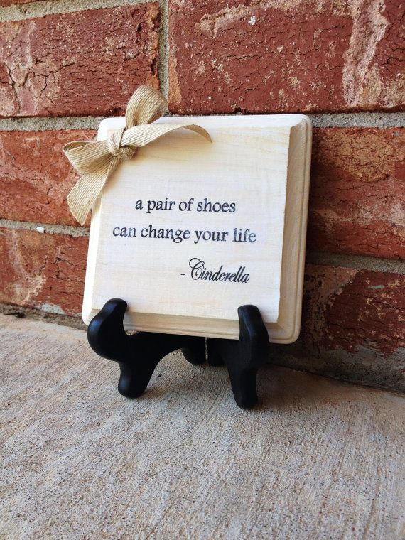 inspirational signs for office. 5x5 cinderella quote sign inspirational office decor wood gift signs for