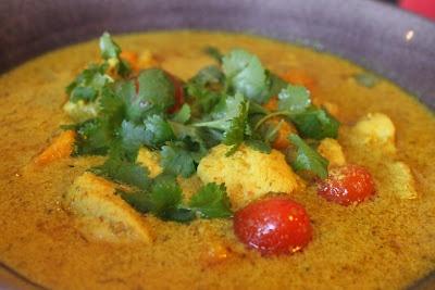 Currygryta med Kyckling och Sötpotatis