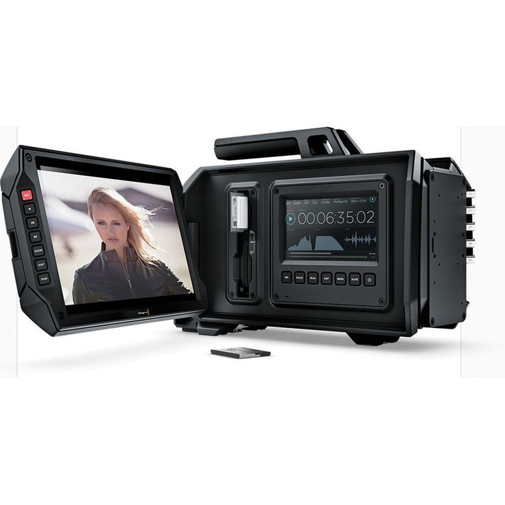 Black Blackmagic Design Ursa 4K Digital Cinema Camera