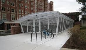 Velodome Shelters offers an extensive variety of creative  bicycle stopping shelters and bicycle racks. http://velodomeshelters.com