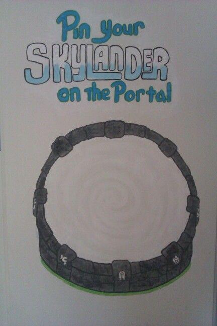 Boys skylander party game idea