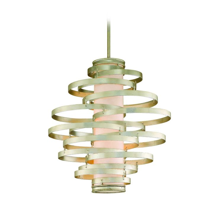 Corbett Lighting Vertigo Modern Silver 6-Lt Pendant in Ceiling Lights, Pendants, Ceiling Pendants: LightsOnline.com
