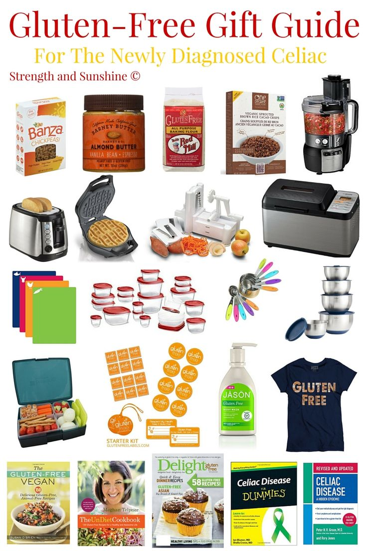 Gluten-Free Gift Guide For The Newly Diagnosed Celiac | Strength and Sunshine @RebeccaGF666 With the discovery and sometimes brutal reality of a celiac diagnosis, some may be left feeling overwhelmed and devastated. You can be their ray of sunshine and give the some perfect gluten-free gifts that will help them get accustomed to their new gluten-free lifestyle with this gift guide for the newly diagnosed! Perfect for the holidays and birthdays!