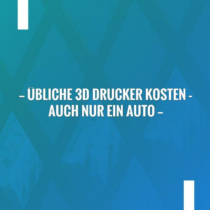 Übliche 3D Drucker Kosten – auch nur ein Auto http://chinadrucker.de/2017/uebliche-3d-drucker-kosten/?utm_campaign=crowdfire&utm_content=crowdfire&utm_medium=social&utm_source=pinterest