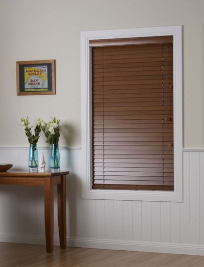 Blinds Online offer 3 day express manufacturing on a selected colour range of timber look venetian blinds