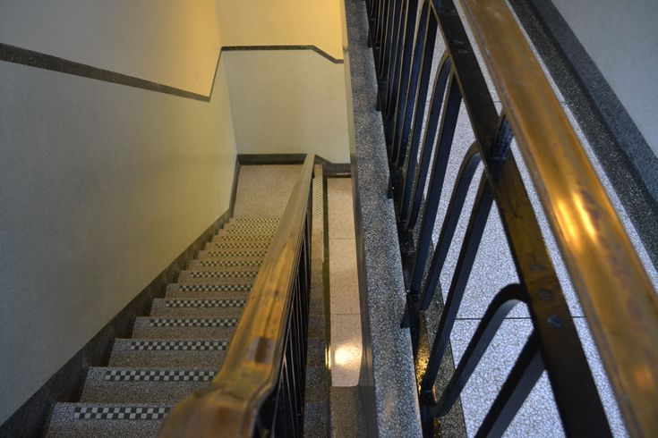Terrazzo stair restoration and cleaning East Sussex, West Sussex, Surrey, Hampshire, Kent and Berkshire.
