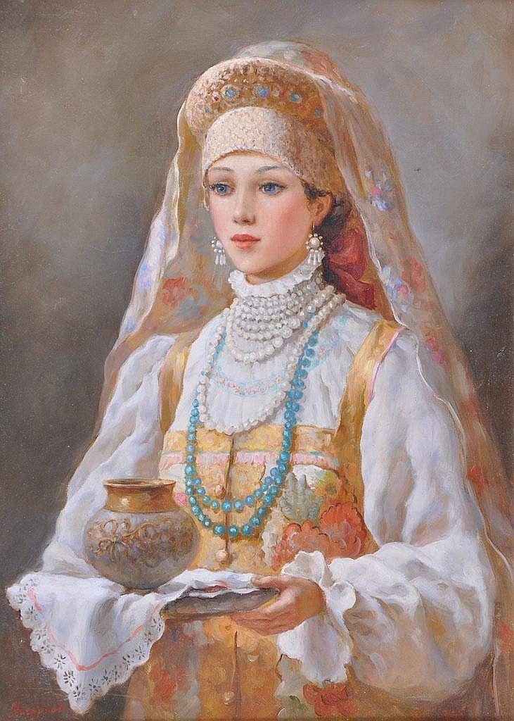 VLADISLAV NAGORNOV (b. 1974) RUSSIAN Russian - by John Nicholsons