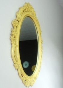 Spray paint mirror.. I will be doing this very soon! Already have the mirror!!