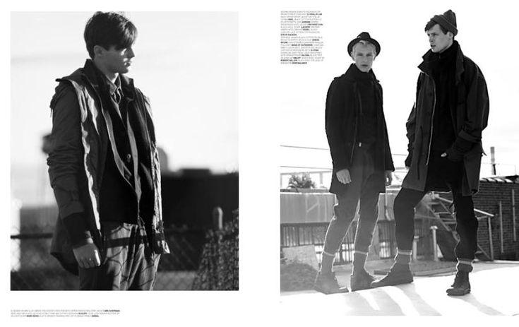 Adrian Wlodarski, Gerhard Freidl & Philipp Bierbaum by Alexander Wagner for Sportswear International