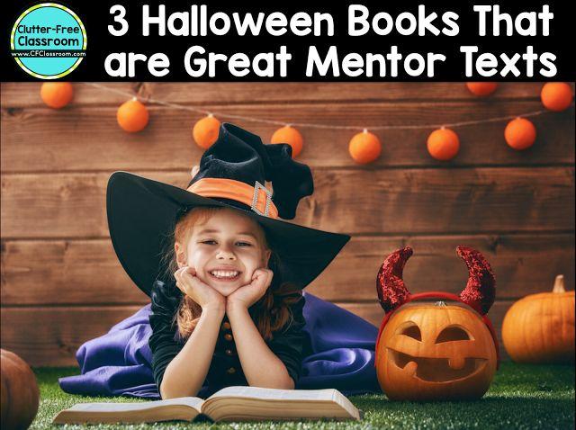 Halloween Stories for Kids: 3 Halloween Books to Teach Writing