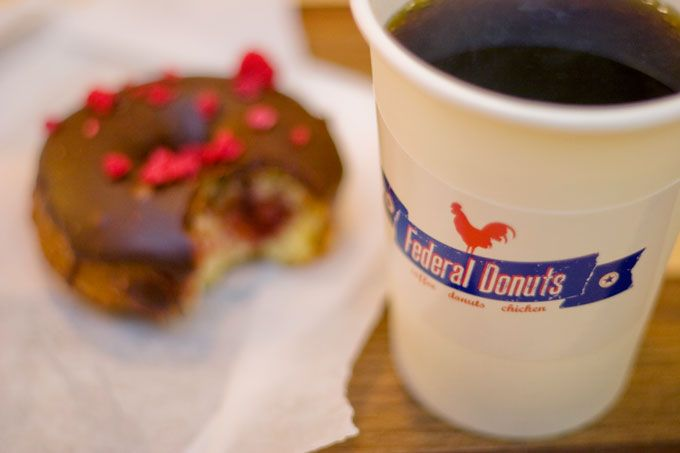 Philadelphia's Federal Donuts (Photo by M. Edlow for GPTMC)