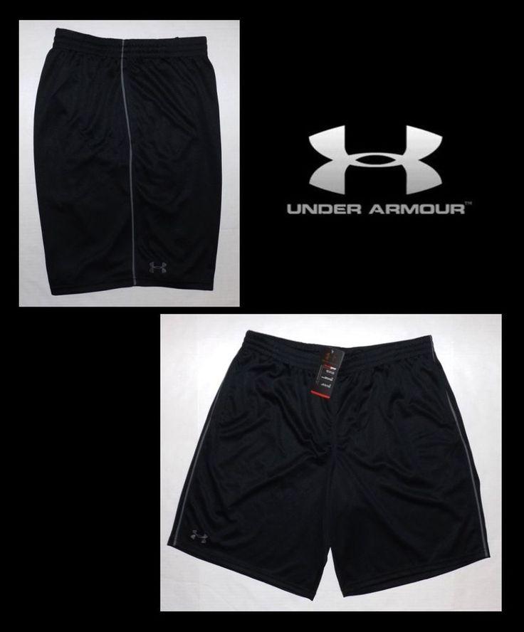 Under Armour Mesh Flex Pipe Men's Basketball Shorts 2XL Black 1248179 481 NWT #UnderArmour #Shorts