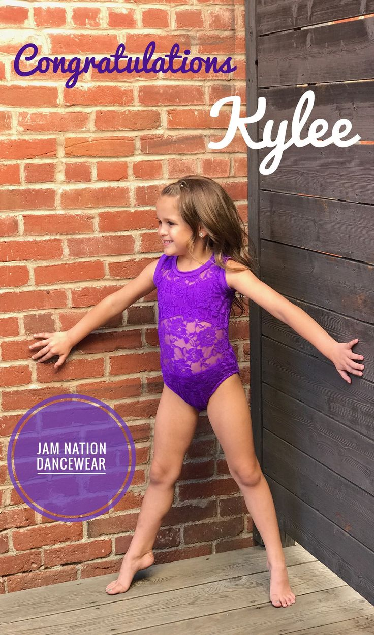 Purple Leotard With Lace Overlay