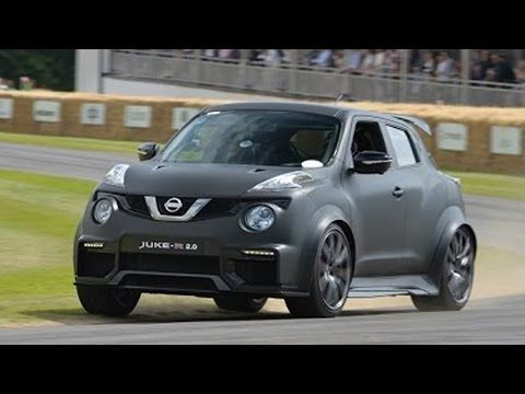 Cool Nissan 2017: See The Nissan Juke R 2.0 In Action At Goodwood