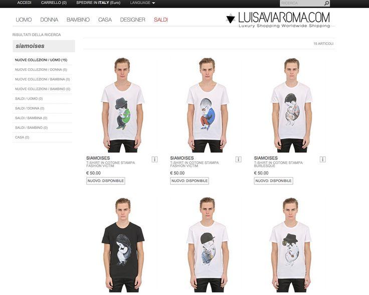 Avete scelto il regalo di #Natale per i vostri fidanzati!? Da oggi potete comodamente ordinare la nuova collezione di t-shirt #siamoises visitando l'e-commerce di Luisa Via Roma! http://bit.ly/luisaviaromawebsite #christmastime