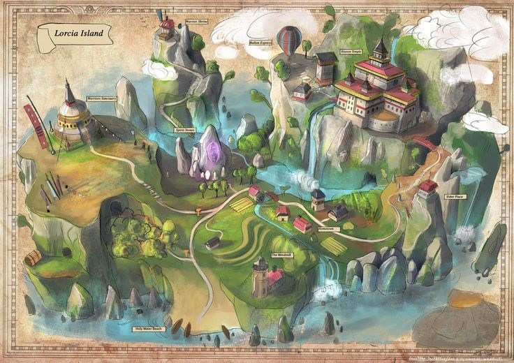 Game map by JonathanDufresne