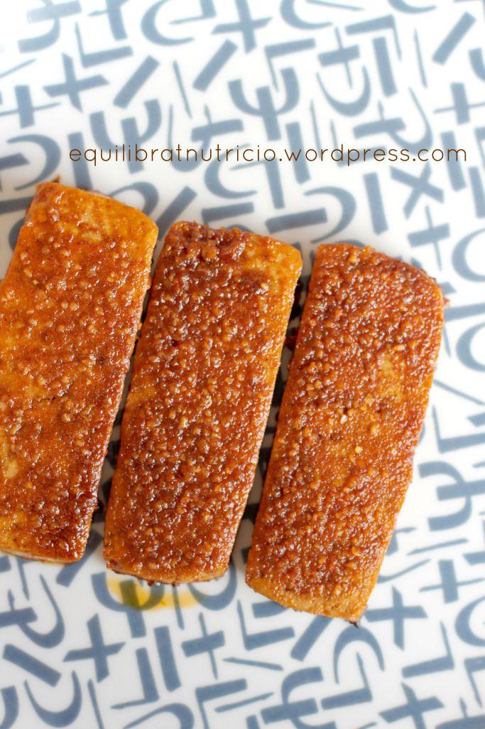 tofu marinado horno saludable vegan