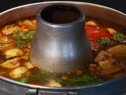 Araya's Place Tom Yum Soup I make a modified version of this - no tomato, tons more chili