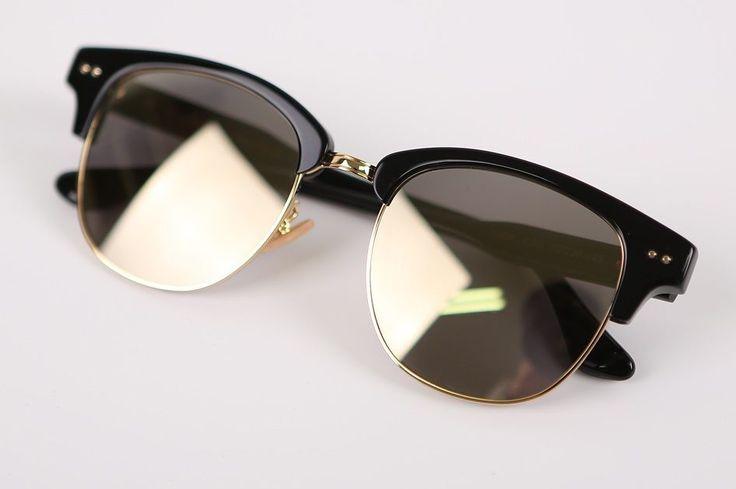 "Limelight Korean Eyewear Fashionable Wearable Sunglasses ""Yoda C BK"" Black   eBay"
