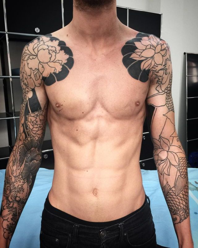 1000 Ideas About Tattoo Fixes On Pinterest: 1000+ Ideas About Men Sleeve Tattoos On Pinterest