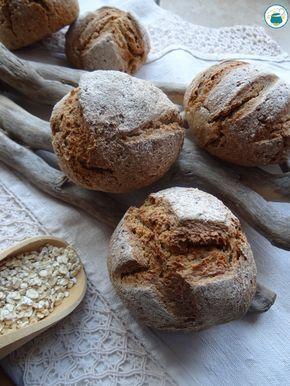 Panini con crusca di avena e farina integrale / ricetta a basso indice glicemico