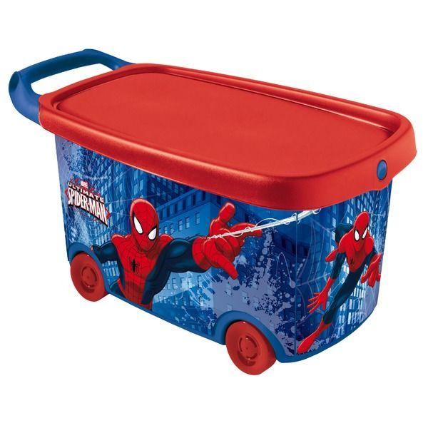 Roller Toy Box Spiderman Stuff To Buy Pinterest
