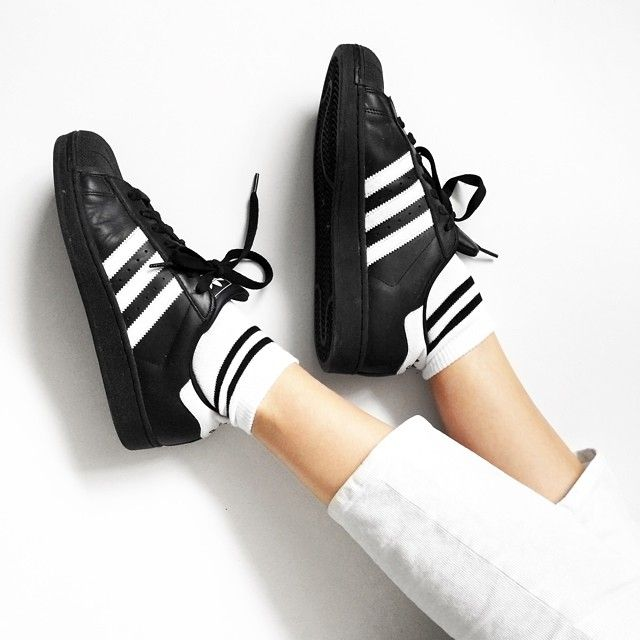 Adidas Superstar Sneakers: The Badass Shoes That Killed The Heels?