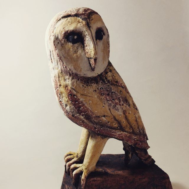 "Maxine Price on Instagram: ""Barn Owl height 48cm incl ..."