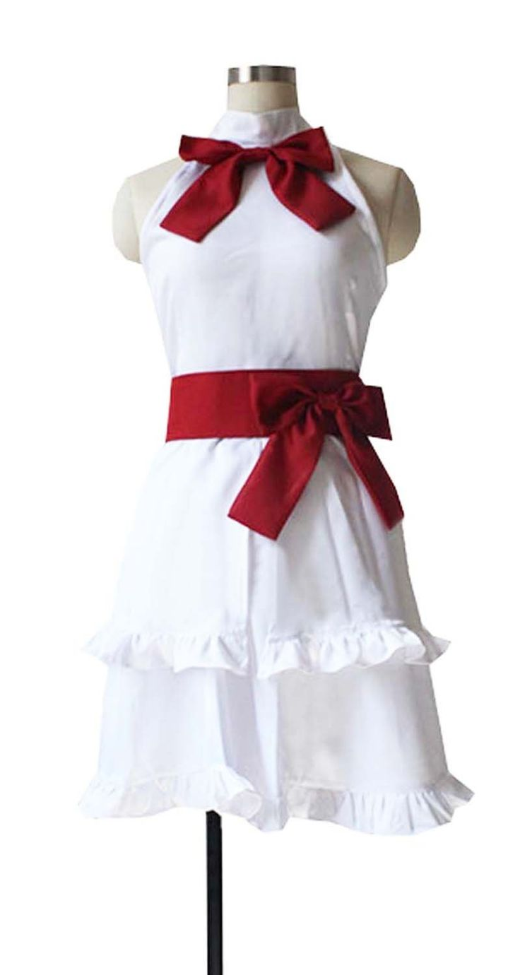 Dreamcosplay Anime Fairy Tail Wendy Marvell White Dress Cosplay Costume *** You can find  sc 1 st  Pinterest & The 9 best Fairy Tail Cosplay images on Pinterest | Fairy tail ...
