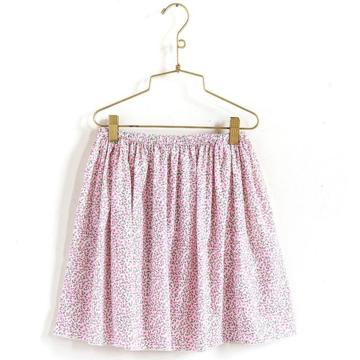 Pretty Wild Daisy Skirt- Liberty Blush