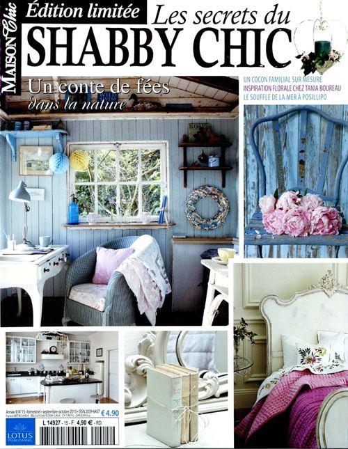 1000 id es propos de biblioth que shabby chic sur pinterest shabby chic - Maison chic magazine ...