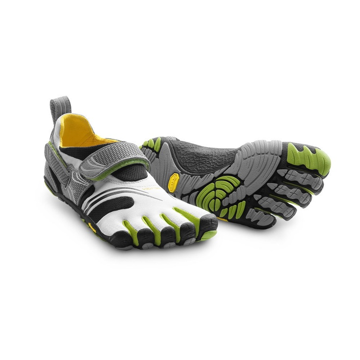 Take a look at this Gray & Black KomodoSport Shoe - Women by Vibram  FiveFingers & Injinji on today!