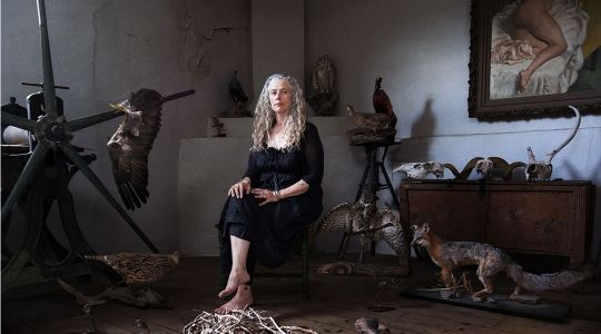 Kiki Smith exhibits at Galleria Continua in San Gimignano - from may 31st to august 30th 2014