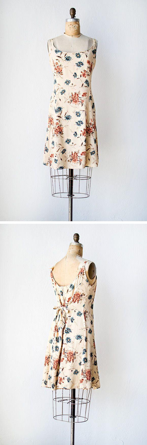vintage 1990s dress | Kerkhoven Planters Dress